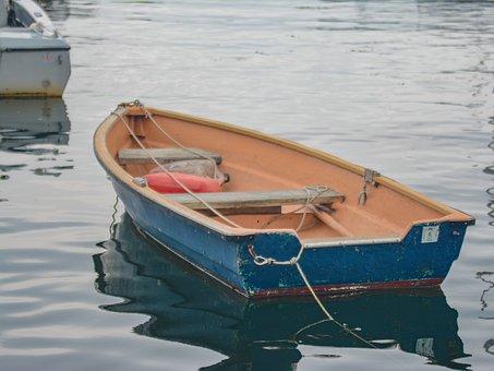 Gloucester, Ma, Boat, Water, Sea, Coastline, Row Boat