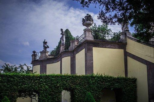 Baroque, Garden, Architecture, Statuary, Historical