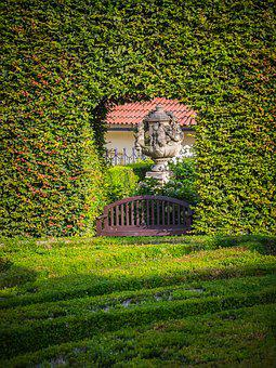 Garden, Baroque, Architecture, Green, History
