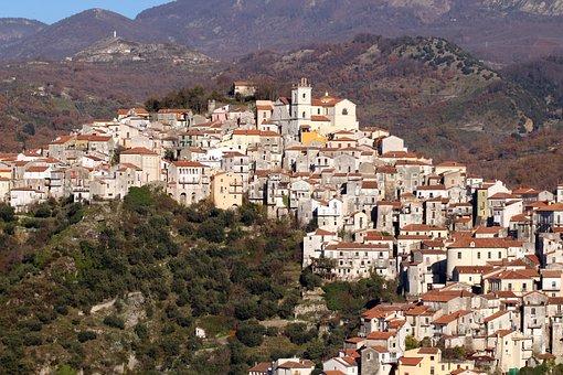 Basilicata, Country, Italy, Borgo, Landscape, Rivello