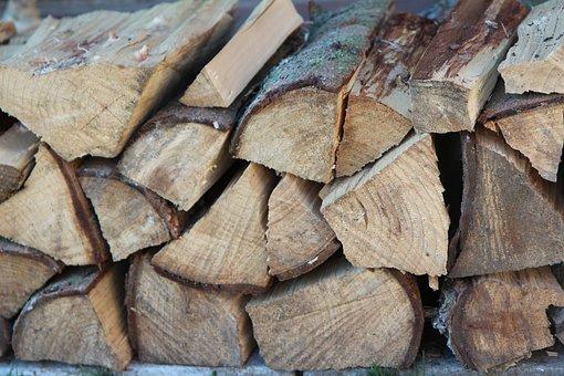 Wood, Log, Heating, Logs