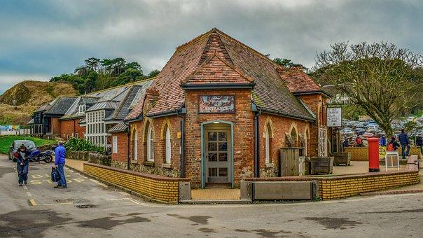 Lulworth Cove, Building, Architecture, Tourism, Village