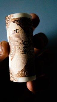 Ten Rupees, Money, Rupee, Rupees, Ten, Currency, Indian