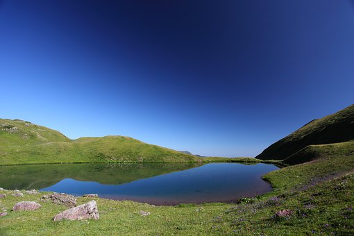 Landscape, Mountains, Sky, Outdoor, Hike, Summer
