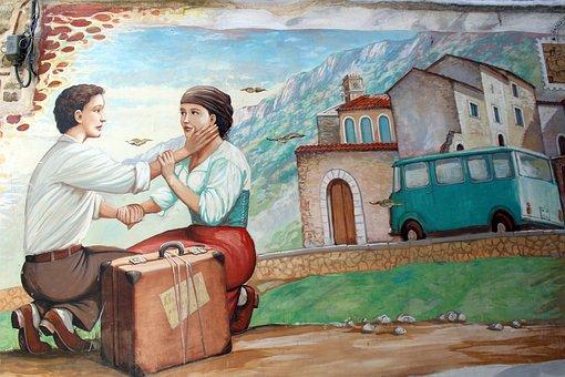 Painting, Art, Graffiti, Color, Colorful, Artwork, Wall