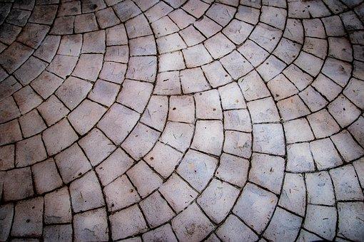 Stone, Tile, Pattern, White, Surface, Design, Rock