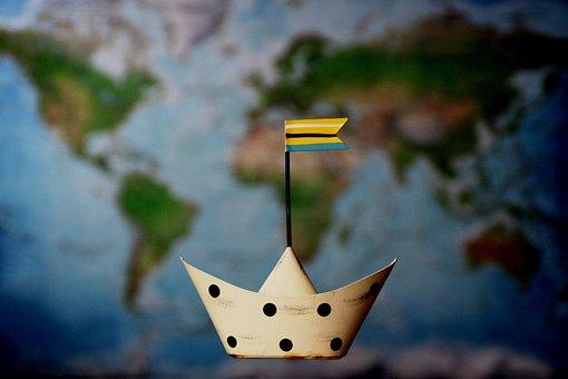 Ship, Ship Travel, Water, Travel, Seafaring, Sea, Wave