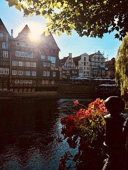 Lüneburg, Stint Market, Historic Center, Truss