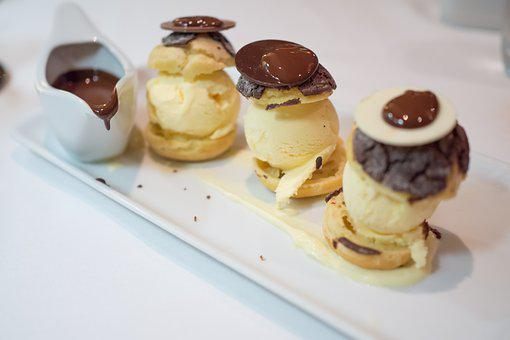 Dessert, Ice Cream, Chocolate, Food, Sweet, Delicious