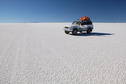 Jeep, Uyuni, Salar, Tour, Bolivia