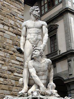 Statue, Florence, Italy, Sculpture, Tuscany