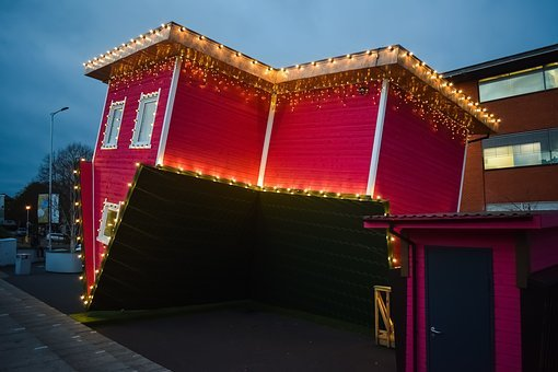 Upside Down House, Bournemouth, Attraction, Tourism