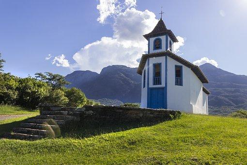 Brazil, Minas, Tourism, Nature, Architecture, Church