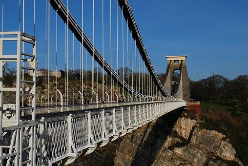 Clifton Suspension Bridge, Bristol, England, Landmark