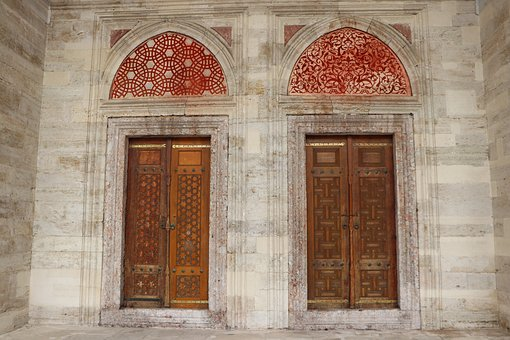 Door, Cami, On, Date, Architecture, Magnificent, Fatih