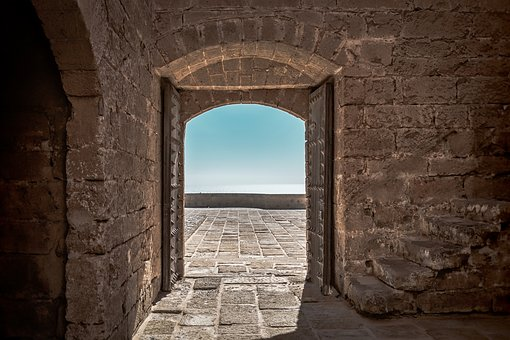 Fort, Door, Old, Architecture, Castle, Fortress
