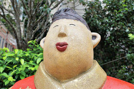 China, Hong Kong, Garden, City, Sculpture