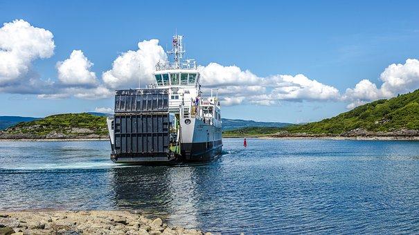 Scotland, Ferry, Water, Sea, Scottish, Ship, Coast