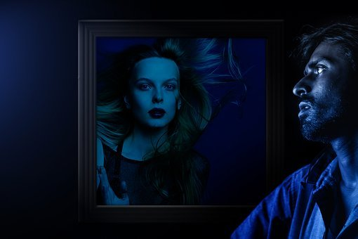 Woman, Man, Frame, Viewing, Desire, Marvel, Love
