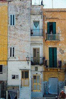 Architecture, House, Window, Street, Town, Door, Facade
