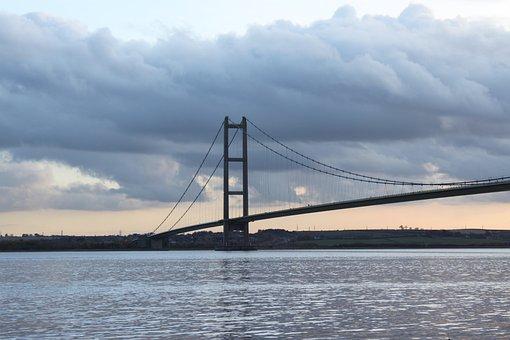 Bridge, Humber, Humber Bridge, Hull, Suspension
