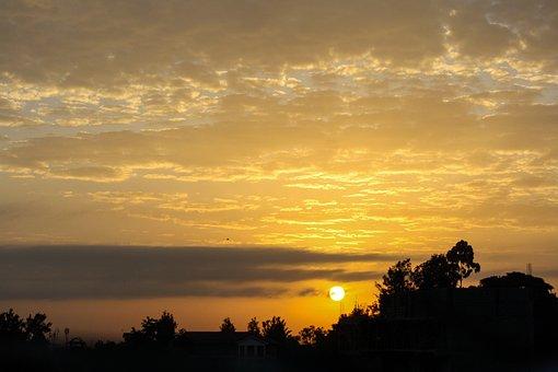 Africa, Kenya, Sunrise, Dawn