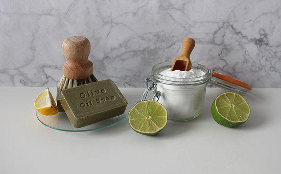 Soda, Lime, Soap, Lemon, Brush, Clean, Budget