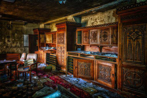 Lost Places, Church, Monastery, Abbey, Abandoned, Old