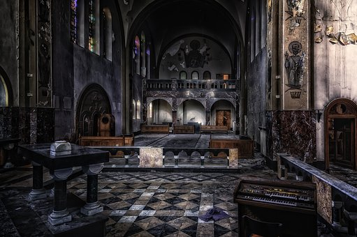 Lost Places, Church, Dom, Altar, Abandoned Places