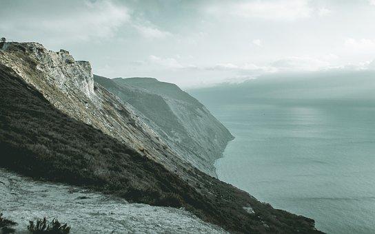Nature, Sea, Water, Coast, Landscape, Sky, Mountains