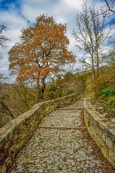 Path, Cobblestone, Cobbled Path, Stone, Pathway