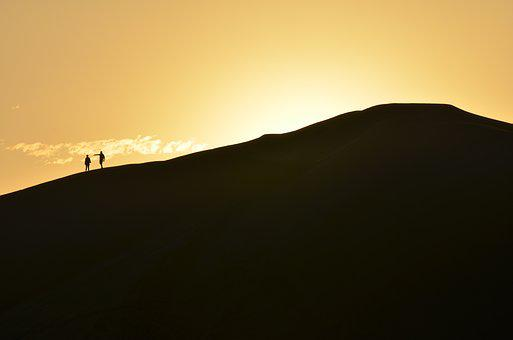 Huacachina, Peru, Sand, Dunes, Sunset, South America