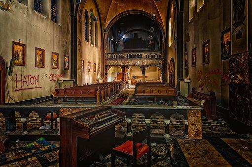 Church, Monastery, Lost Places, Pforphoto