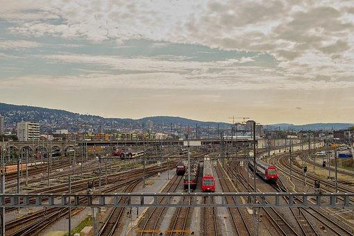 Zurich, Train, Railway, Sbb, Railway Station, Gateway