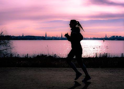 Run, Silhouette, Jog, Fitness, Sport, Runners