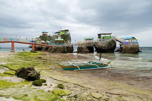 Philippines, Island, Gibitgnil, Water, Travel, Summer