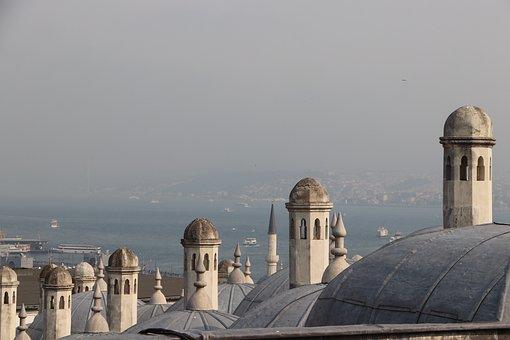 Dome, Baths, Turkish Bath, Istanbul, Süleymaniye, Fatih