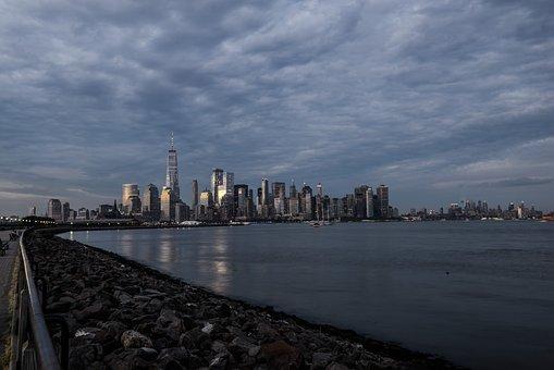 Skyline, Ny, Nyc, Manhattan, City, Usa, America
