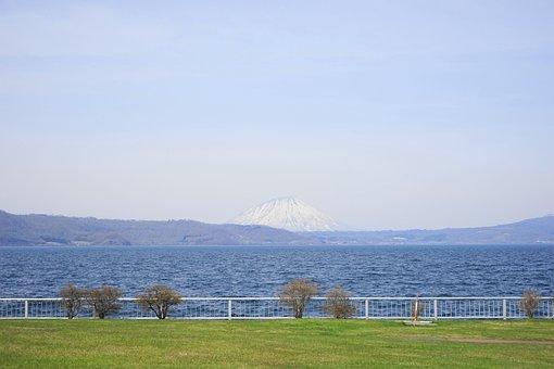Toya, A Must, Snow Mountain, Lake, Snow