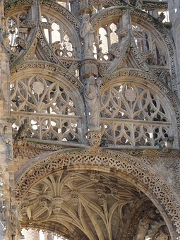Cathedral, France, Albi, Tarn, Church, Lace