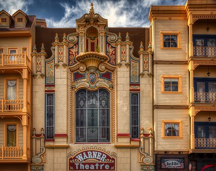 Warner Theatre, Atlantic City, New Jersey, America
