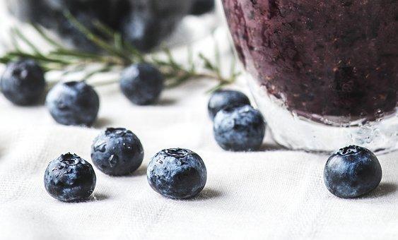Antioxidant, Beverage, Blueberries, Blueberry Smoothie
