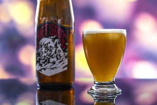 Alcohol, Background, Bar, Beer, Bokeh, Bottle, Brewed