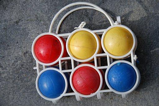 Bocce, Balls, Boule, Play, Sport, Pétanque, French