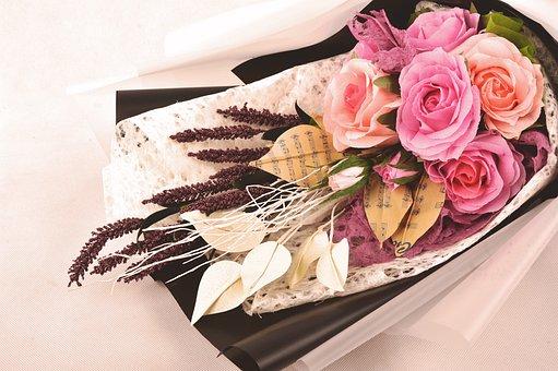 Handmade, Paper, Flower, Color, Crepe Paper, Craft