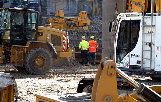 Site, Engineer, Construction Machinery