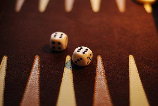 Backgammon Board, Dice, Sixes, Game, Win, Gambling