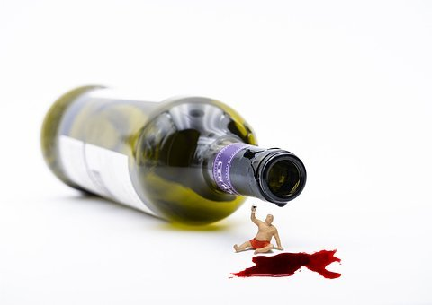 Bottle, Drinkers, Miniature Figures, Drunkenness