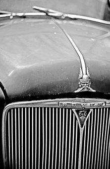 Car Bonnet, Vintage, Hood, Old, Vehicle, Auto