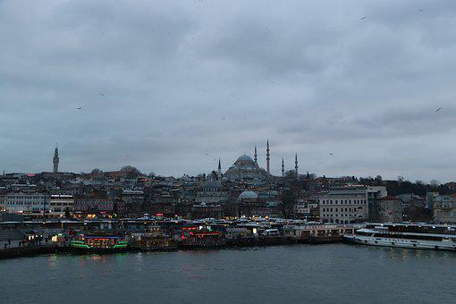 Süleymaniye, Istanbul, Eminönü, On, City, Islam, Turkey